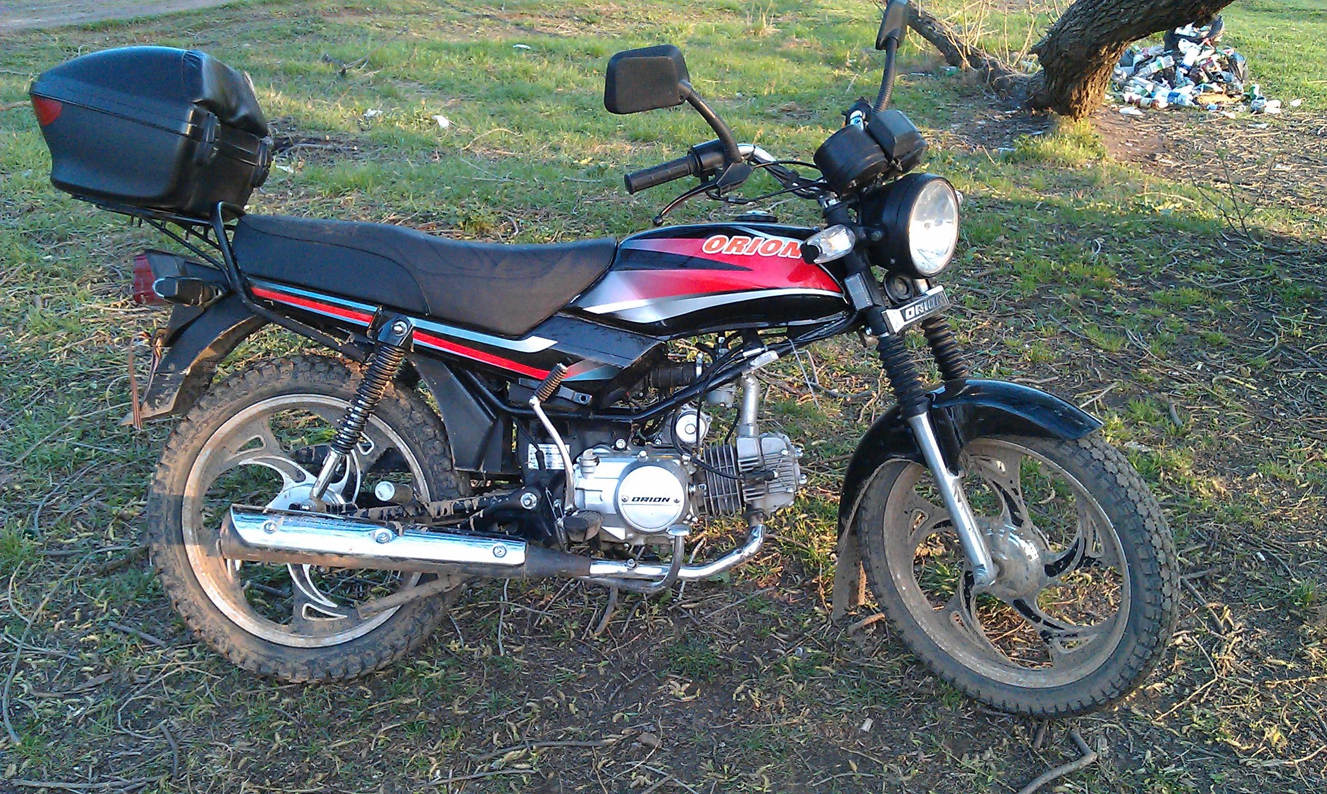 мотоцикл орион 125