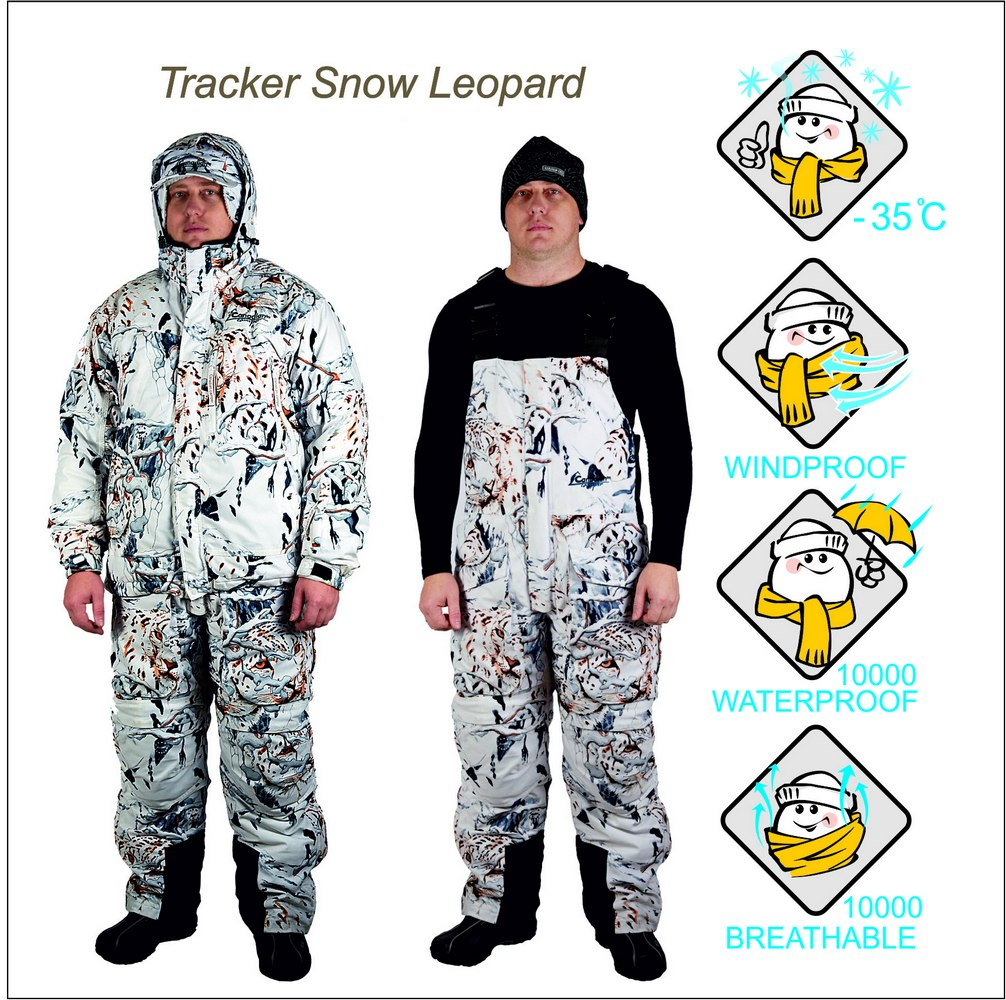 ������ ��������� ������ Tracker Snow Leopard