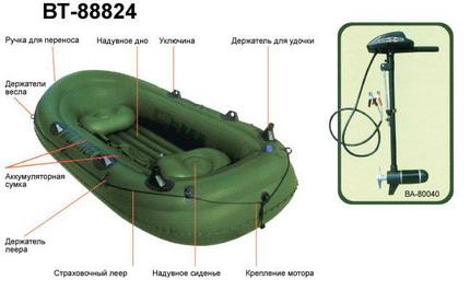 лодка bt 88824